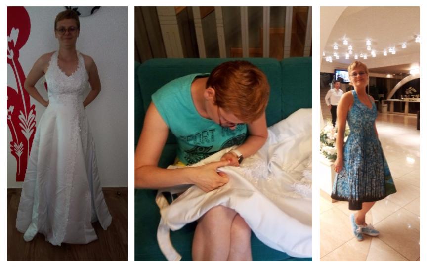 Ți-ai dori să porți rochia de mireasă și cu alte ocazii? Păi află că există o meșteriță care face posibil acest lucru!