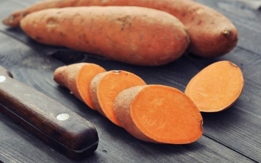 Cartoful dulce - tot mai des este ales de mămici pentru pici