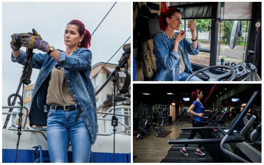 """Proiect inedit """"24"""": 24 de fotografii în 24 de ore din viața... unei conducătoare de troleibuz"""