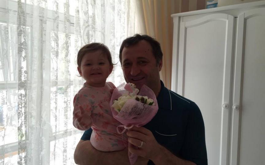 Mesaj emoționant din partea lui Vlad Filat pentru fiica sa omagiată azi