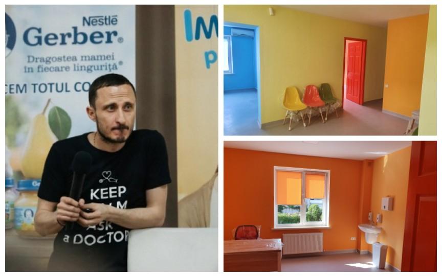 Pediatrul Mihai Stratulat își deschide propria clinică. Iată când se organizează ziua ușilor deschise pentru toți părinții!