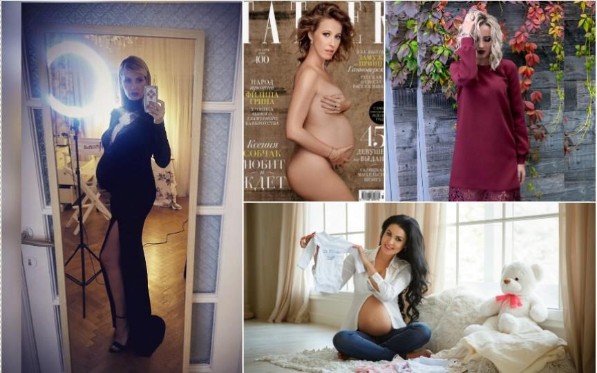 Vine barza! Top 8 vedete care sunt însărcinate