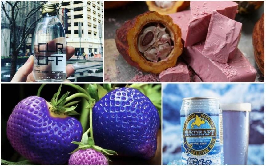 8 invenții ciudate și colorate care au invadat industria alimentară