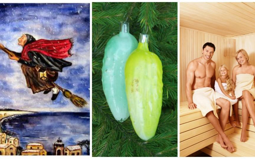 Tradiţii neobişnuite de Crăciun...