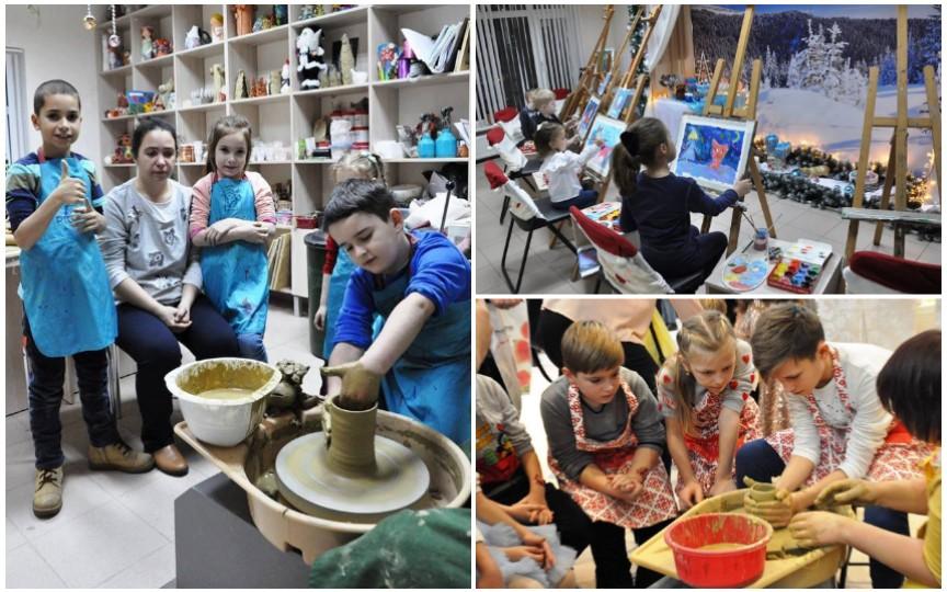 Dezvoltă abilitățile creative ale copilului prin intermediul orelor de art-terapie