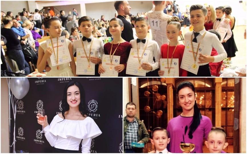 Ea e moldoveanca ce a renunțat la visul american pentru a face dans acasă