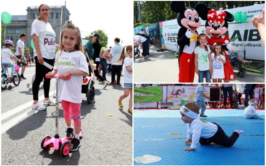 Odoraș te invită la cea mai tare competiţie pentru părinți şi pici la Olympic Fest
