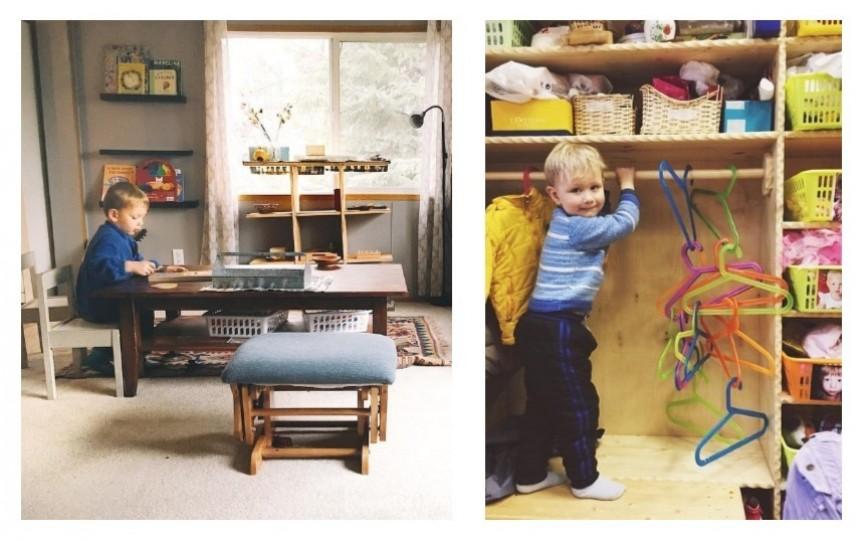 Amenajați-vă casa după metoda Montessori în 5 pași