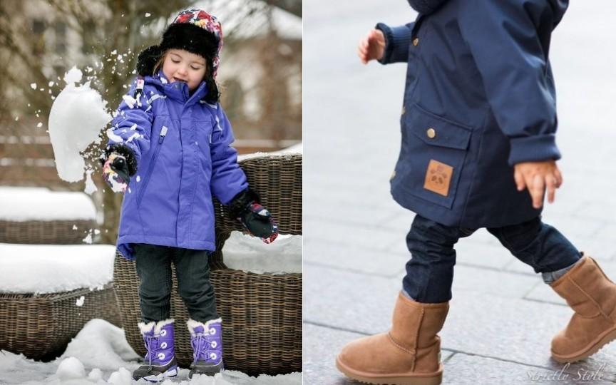 Cum alegem corect încălțămintea de iarnă a copilului