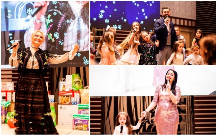 Vedetele autohtone vor distra participanții la Crăciunul Copiilor 2018!