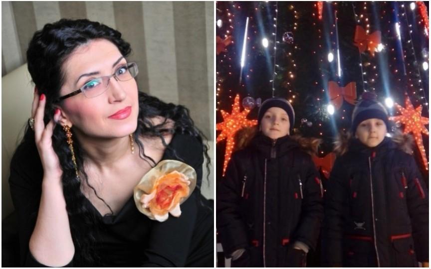 Sărbătoare în familia Georgetei Voinovan, gemenii ei împlinesc 8 ani