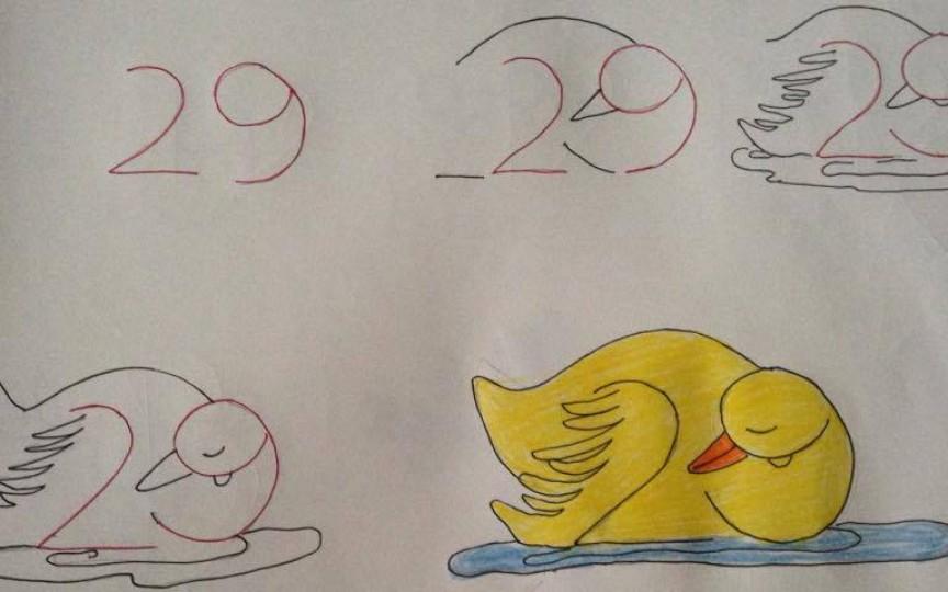 Cum să desenezi cu ajutorul cifrelor