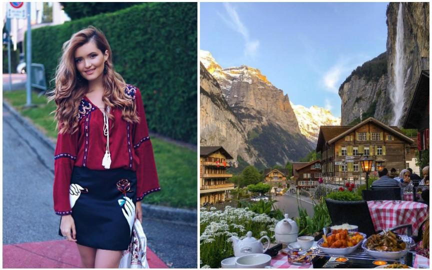 Cristina Gheiceanu îți propune TOP-ul celor mai frumoase locuri din Elveția