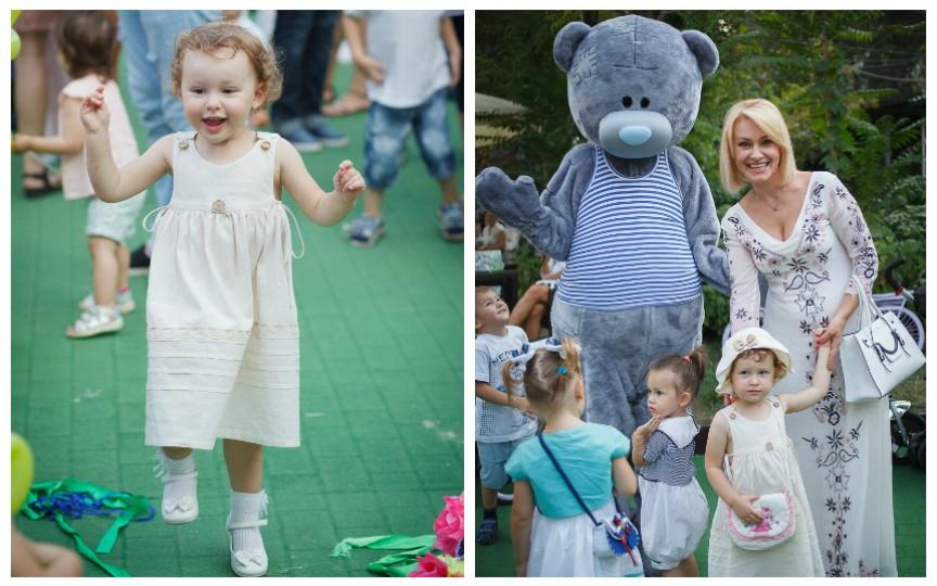 Lorena Bogza cu fiica sa, pentru prima dată la o petrecere pentru copii (Foto)