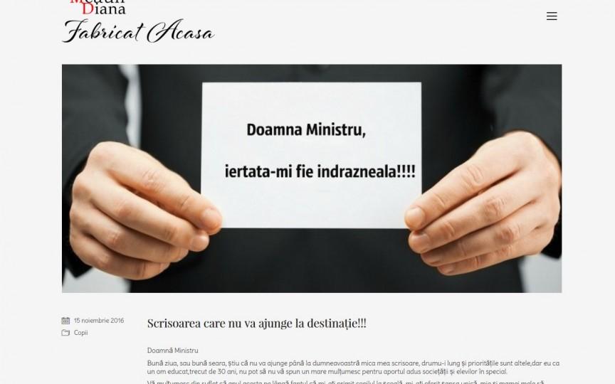 Vezi dacă a răspuns doamna ministru la scrisoarea părintelui nemulţumit de programul şcolar