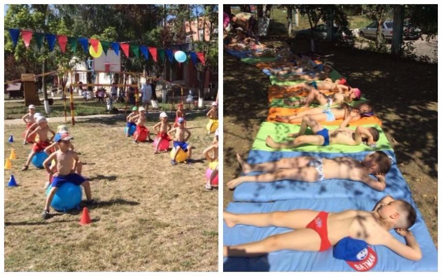 Copiii unei grădinițe din capitală au demonstrat care sunt cele mai eficiente metode de călire