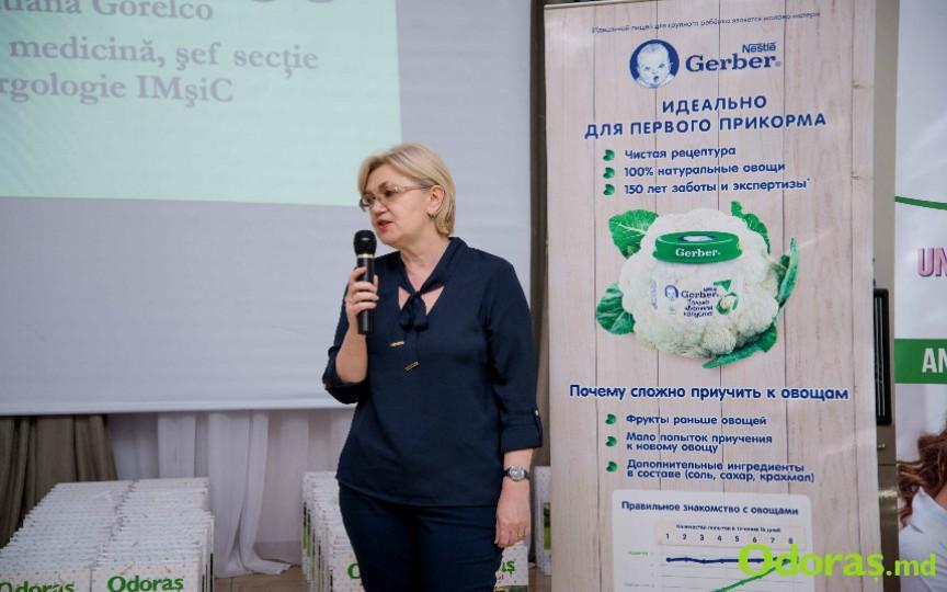 Tatiana Gorelco, despre alergiile alimentare la copii și dacă pot fi acestea depășite