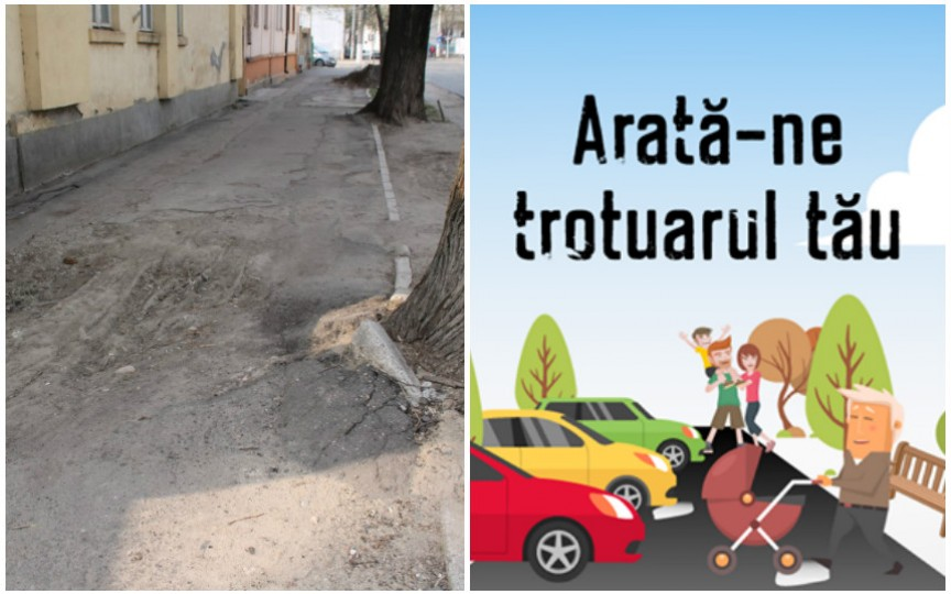Arată-ne trotuarul tău – inițiativa care are drept scop să schimbe aspectul orașului Chișinău
