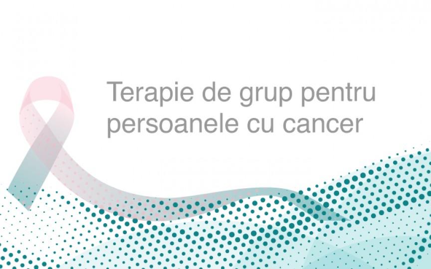 Terapie de grup pentru persoanele cu cancer