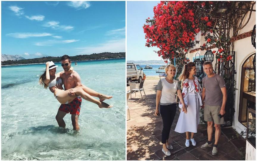 Cristina Gheiceanu petrece o vacanță de vis alături de soț și de părinți