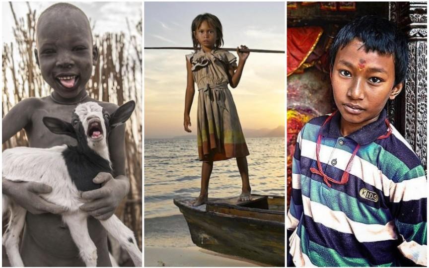 Cum arată copilăria în diferite colțuri ale lumii - 17 imagini impresionante