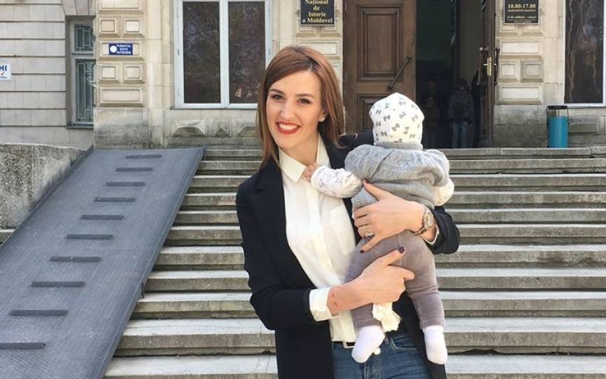 (Foto) Fetița Tatianei Heghea are deja 5 luni