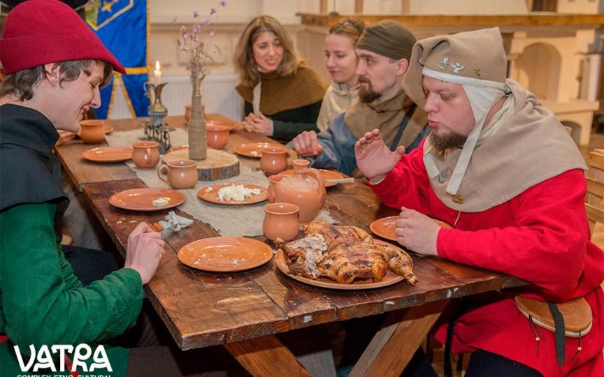 Evenimentul la care poți avea parte de cel mai veritabil Ospăț Medieval