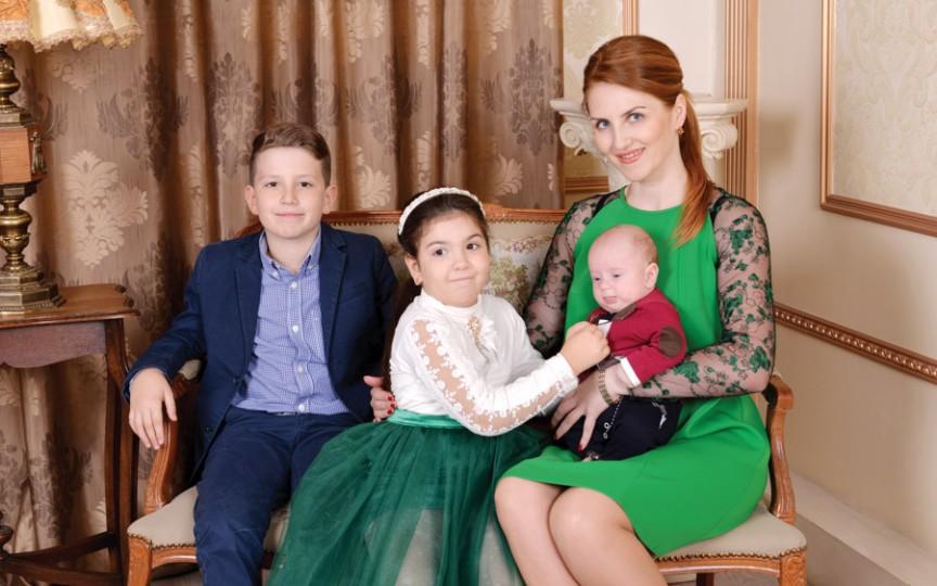 Cristina Burdiumov - succesul copiilor este bucuria mea