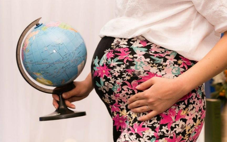 Fotografia zilei: Maternitatea este ca o călătorie