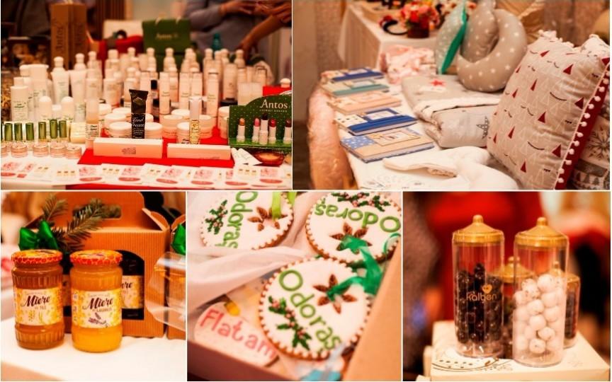 Vezi ce cadouri au putut achiziționa oaspeții de la Crăciunul Copiilor 2017