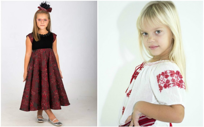 Două surioare vor reprezenta Moldova la concursul Little Miss&Mister World România