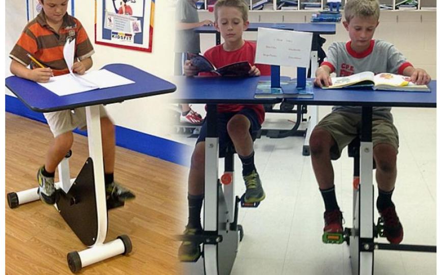 Birouri cu pedale pentru copiii hiperactivi