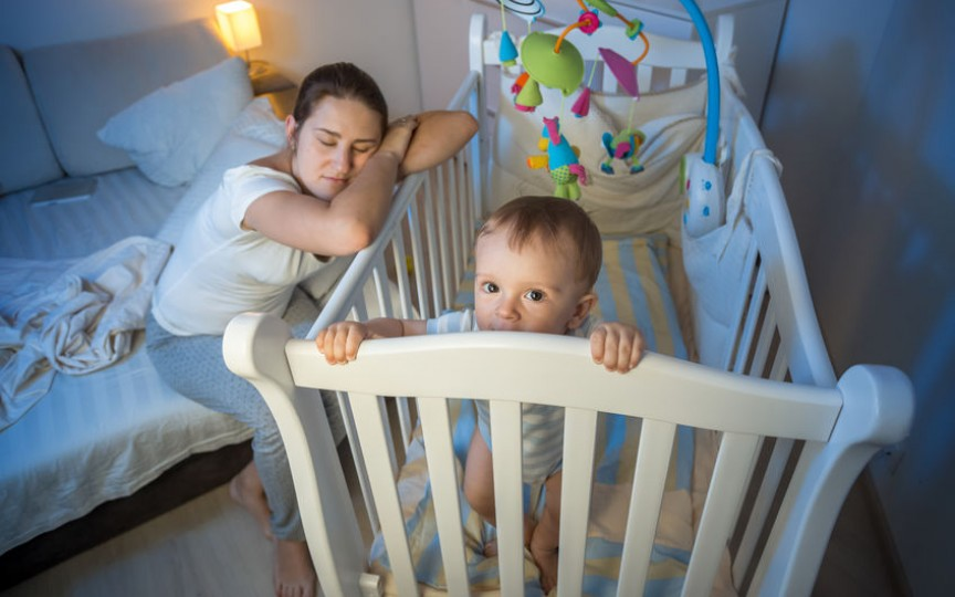 Nu mă trezesc noaptea pentru copil! Eu LUCREZ, tu NU!