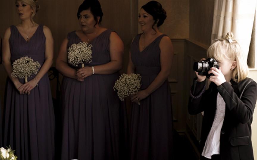 La doar 9 ani e un fotograf profesionist solicitat la nunți