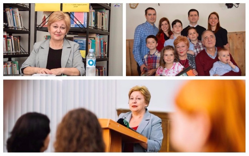 Ala Mândâcanu, de la politică... la bunică de cinci stele