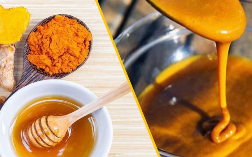 Rețeta antibioticului natural din turmeric şi miere