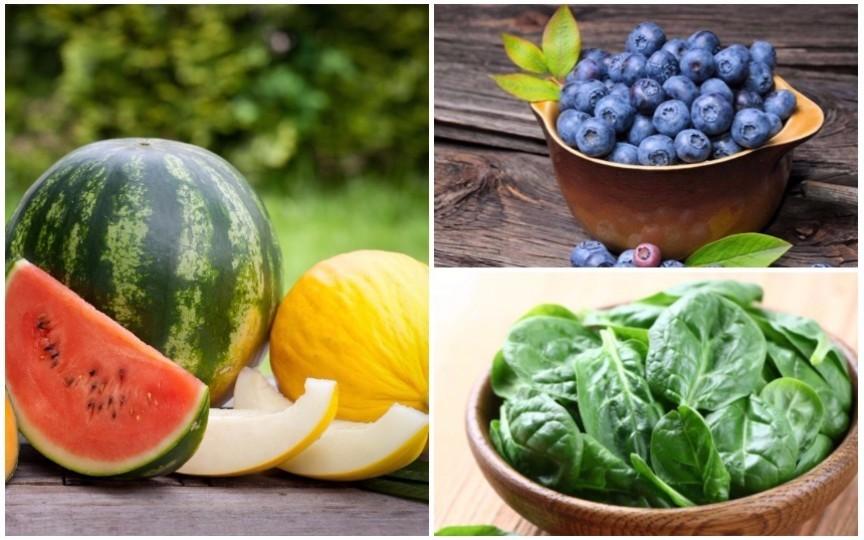 5 alimente perfecte pentru detoxifierea organismului vara