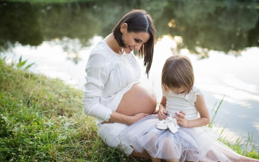 Lilu a postat prima poză după naștere cu numele fetiței