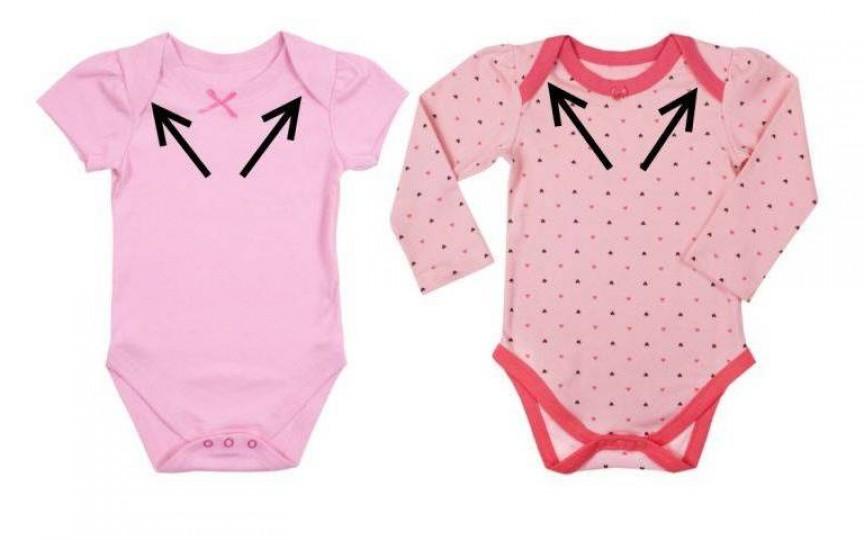 De ce sunt făcute aşa body-urile pentru bebeluşi