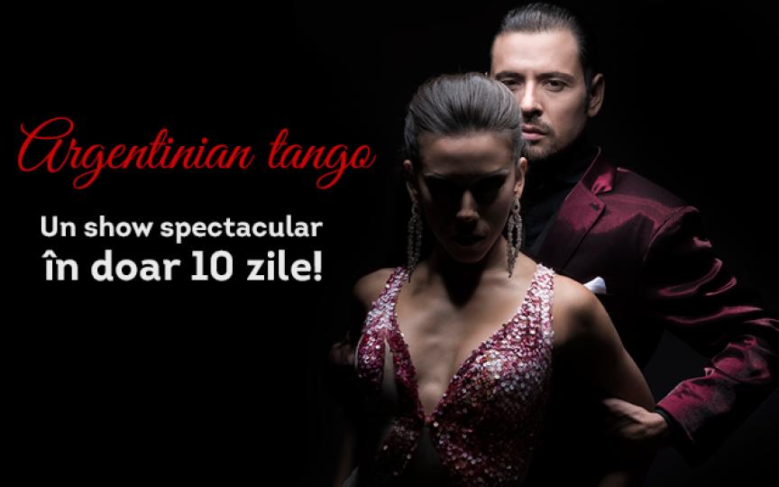 Vedete mondiale de TANGO argentinian pe scenă la Chișinău! Un show incendiar