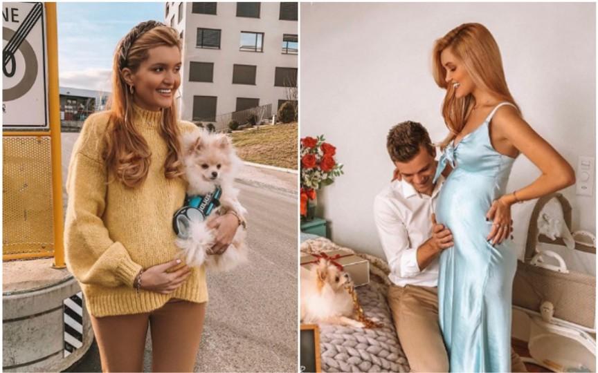 Bloggerița Cristina Gheiceanu a dezvăluit sexul bebelușului pe care îl așteptă