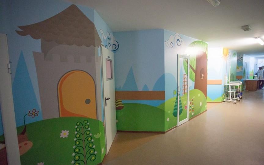 Așa arată acum o secție a spitalului de copii Nr.1 din Chișinău