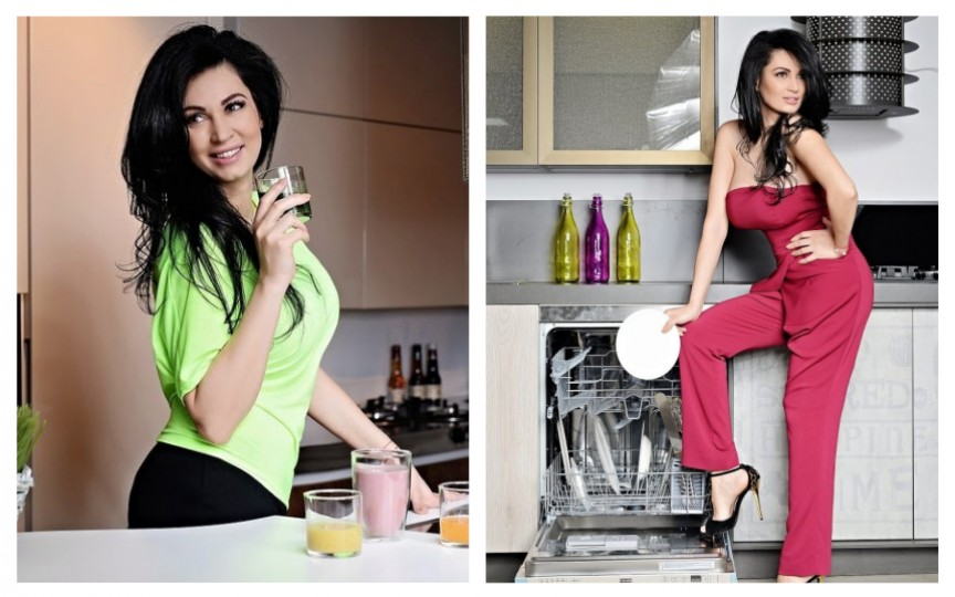 Nicoleta Luciu, mamă a 4 copii, își învață fanii cum să slăbească. Iată ce super dietă ține!