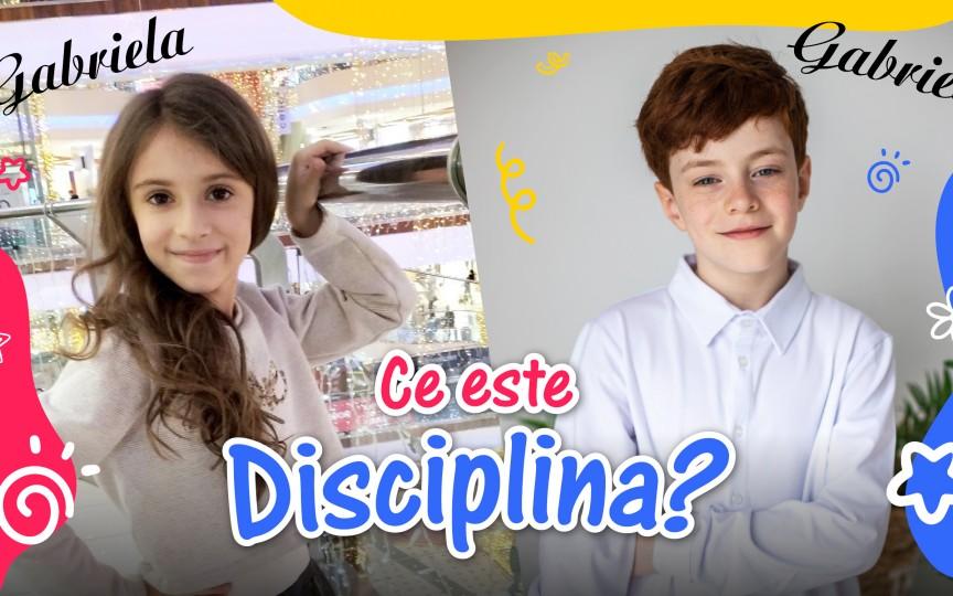 Cum îl învățăm pe copil să fie disciplinat?