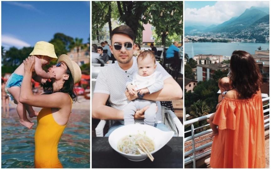 La numai 6 luni, fiul Danielei Culev a reușit să viziteze 7 țări