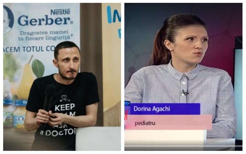 Pediatrii Mihai Stratulat și Dorina Agachi pun punctele pe I privind infecțiile bacteriene la copii