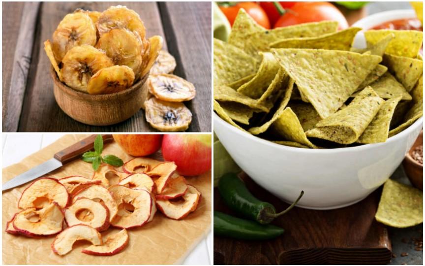 9 alternative sănătoase la chipsurile din cartofi