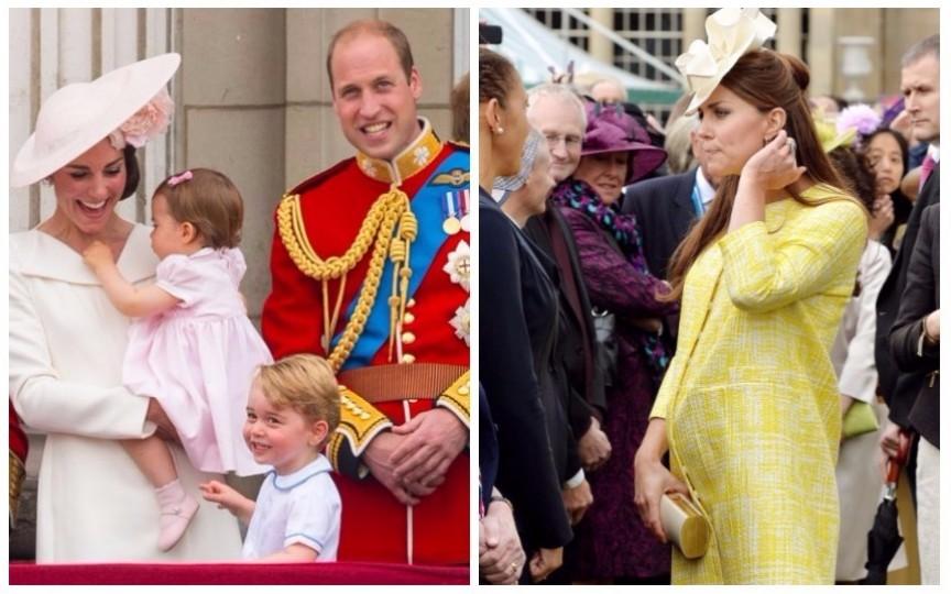 Kate și William sunt în așteptarea celui de-al treilea copil