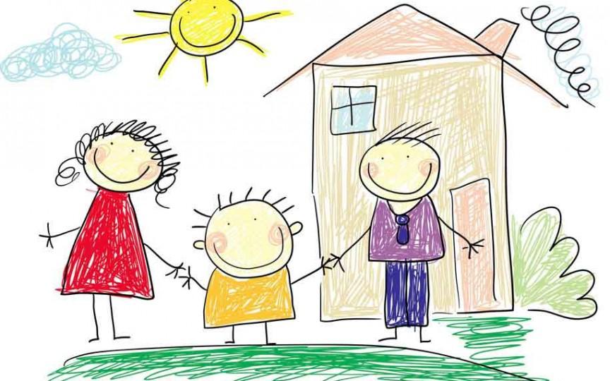 Cum analizăm desenele copiilor care ilustrează familia