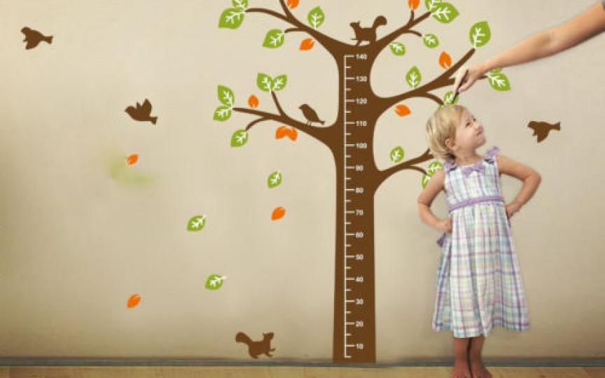 Află ce înălţime va avea copilul tău când va fi mare!